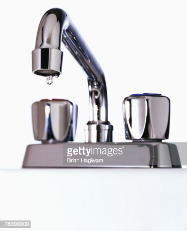 water faucet dripping stock photo getty images