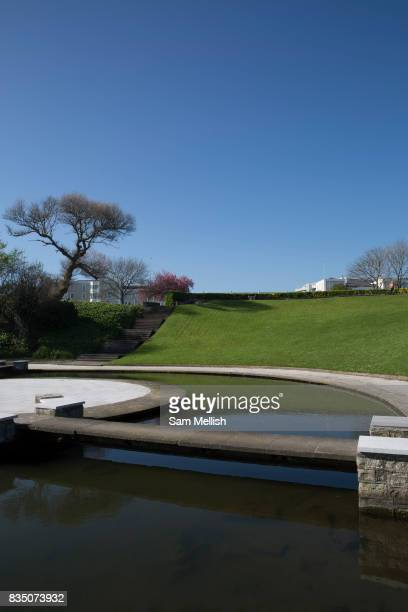 Water feature in Blackrock Park on 08th April 2017 in County Dublin Republic of Ireland Dublin is the largest city and capital of the Republic of...