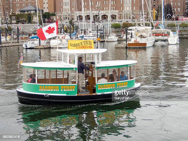 Water Ferry Victoria British Columbia Canada Inner Harbour Tours