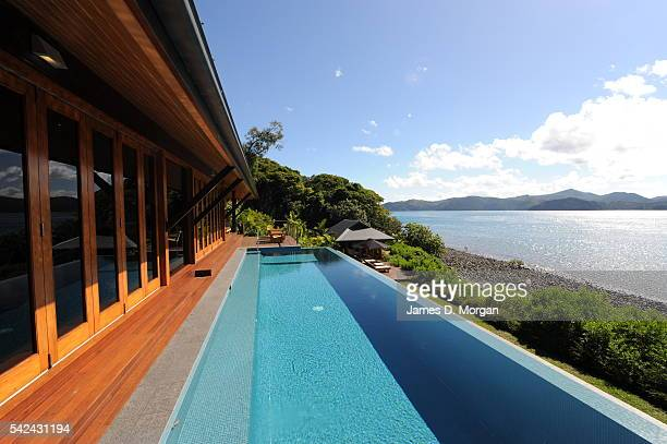 Water Front View of Qualia resort five star hotel on July 5 2009 in Hamilton Island