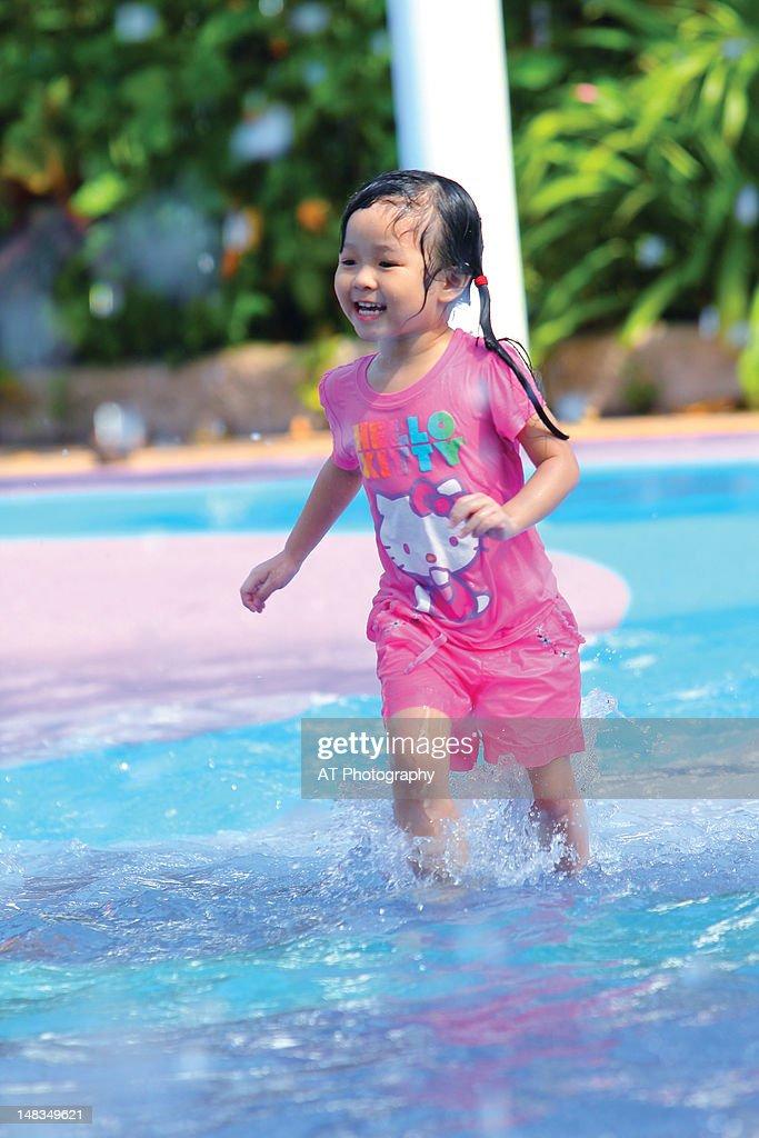 Water fun, Singapore Zoo