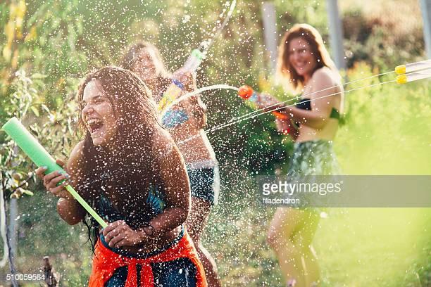 Pistola ad acqua lotta