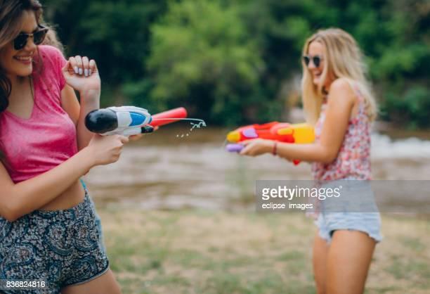 Bataille de Pistolet à eau