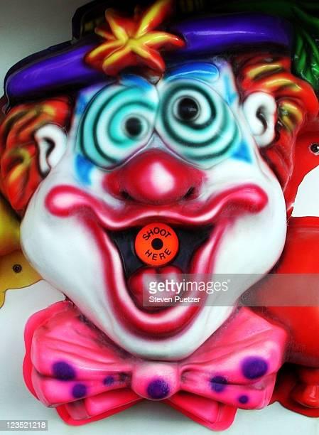 Water gun race clown