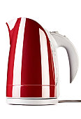 Water kettle, isolated on white, with clipping path