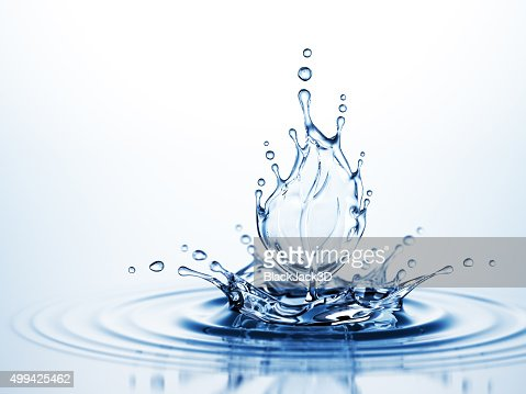 Water Leaf Splash