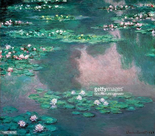 Water Lilies 1905 Claude Monet 89x94 cm Boston Museum Of Fine Arts