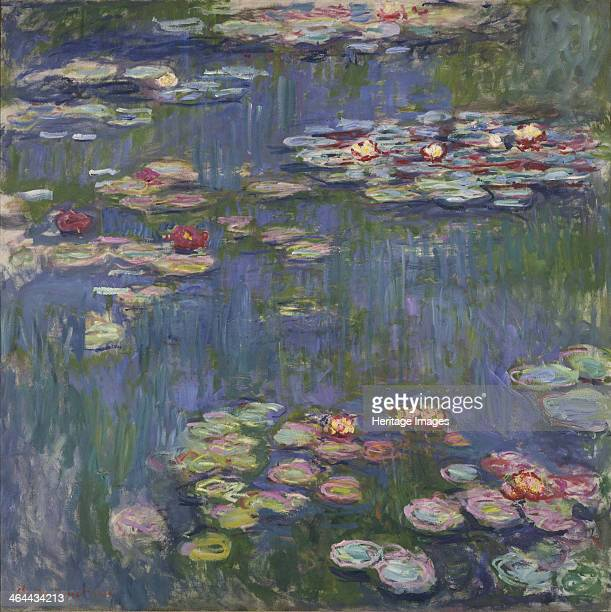 Water Lilies 1916 Found in the collection of the National Museum of Western Art Tokyo