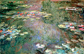 'Water Lilies' c1925 Private collection