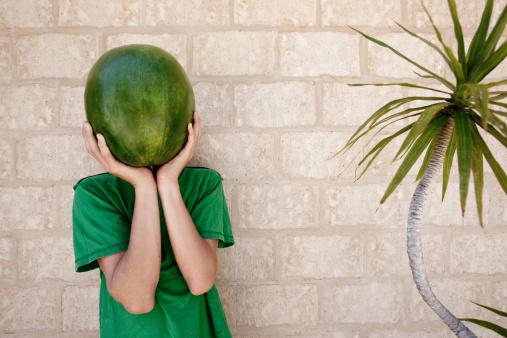 Water melon head