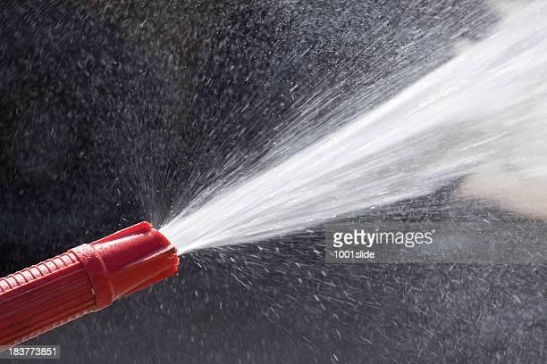 水ノズル:吹きかける