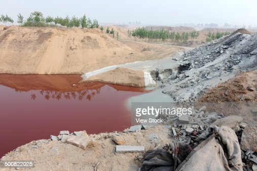Water pollution : Stock Photo