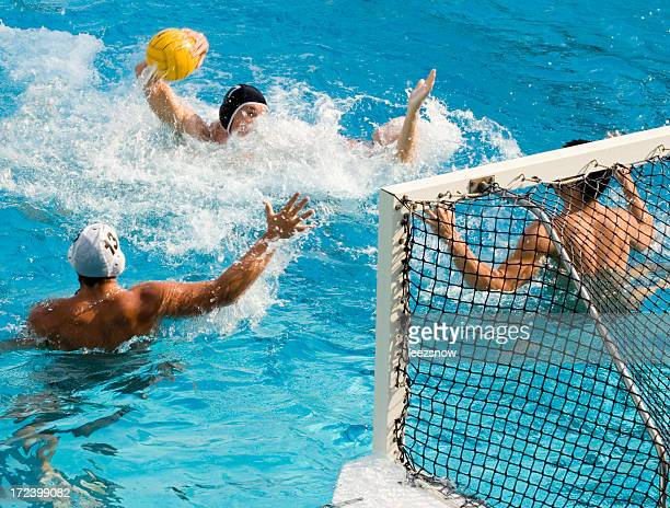 Acción de Water Polo