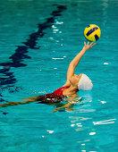 Water polo girl
