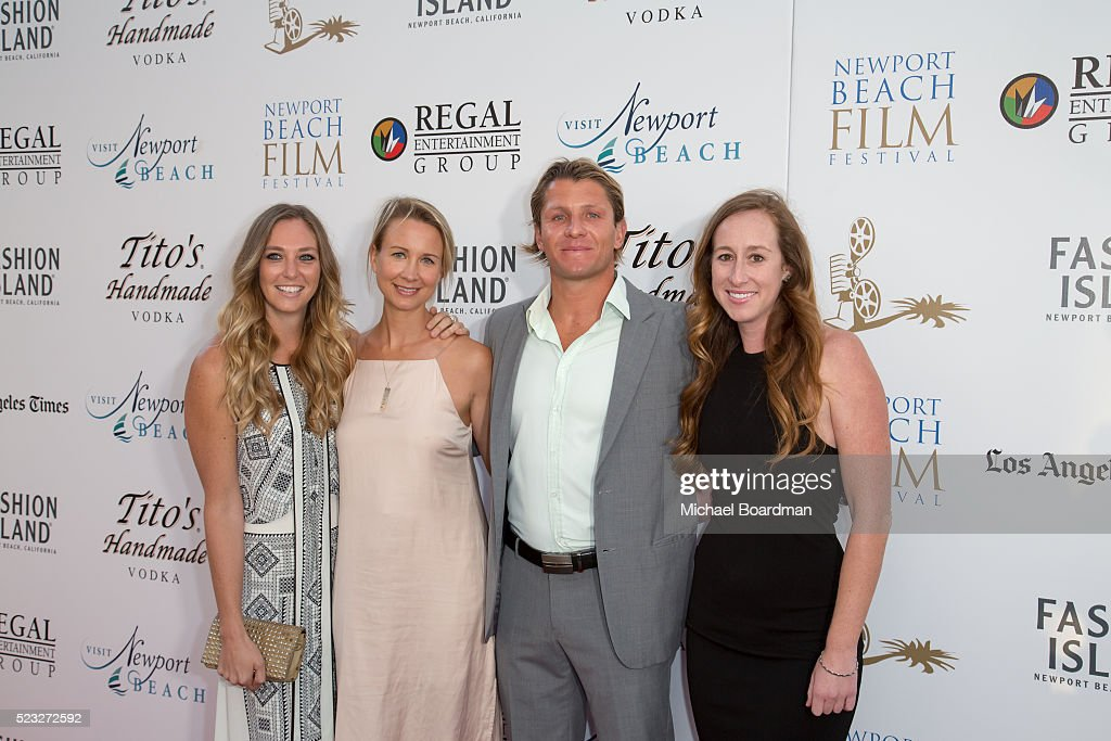 US Water Polo Olympic Team Captain <a gi-track='captionPersonalityLinkClicked' href=/galleries/search?phrase=Tony+Azevedo&family=editorial&specificpeople=3490431 ng-click='$event.stopPropagation()'>Tony Azevedo</a> attends the 17th Annual Newport Beach Film Festival opening night premiere of 'After The Reality' at Lido Live Theater on April 21, 2016 in Newport Beach, California.