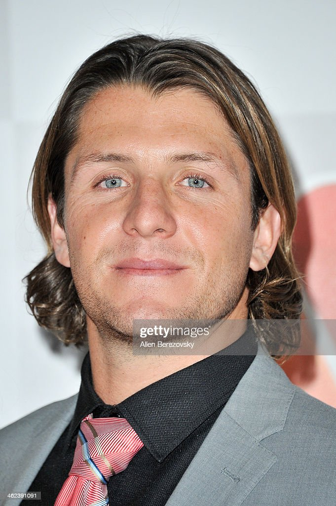 Water polo player Tony Azevedo attends the NBC/Universal's 71st Annual Golden Globes After Party at The Beverly Hilton Hotel on January 12, 2014 in Beverly Hills, California.