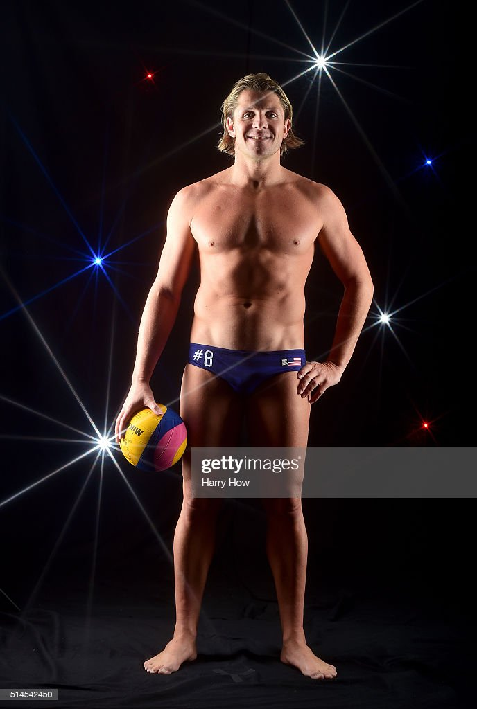 Water polo player <a gi-track='captionPersonalityLinkClicked' href=/galleries/search?phrase=Tony+Azevedo&family=editorial&specificpeople=3490431 ng-click='$event.stopPropagation()'>Tony Azevedo</a> poses for a portrait at the 2016 Team USA Media Summit at The Beverly Hilton Hotel on March 9, 2016 in Beverly Hills, California.