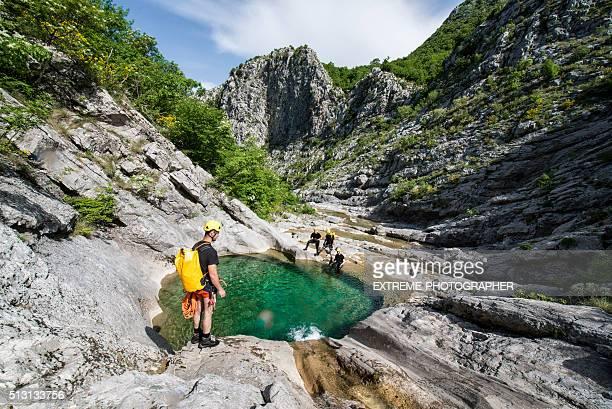 Wasser Schwimmbad in den Bergen