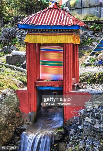 Water Prayer Wheel, Annapurna Circuit, Nepal