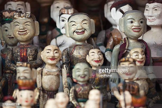 Água puppets