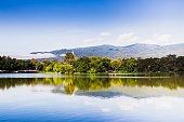 Water reservoir,Lanna Rama 9 Park Chiang Mai.