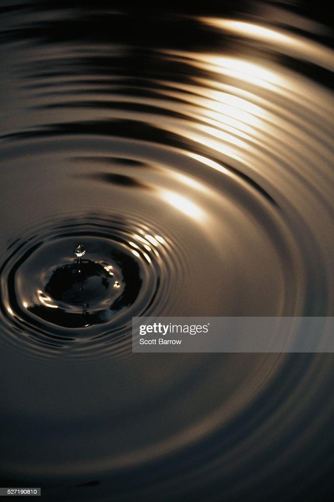 Water ripples : Bildbanksbilder