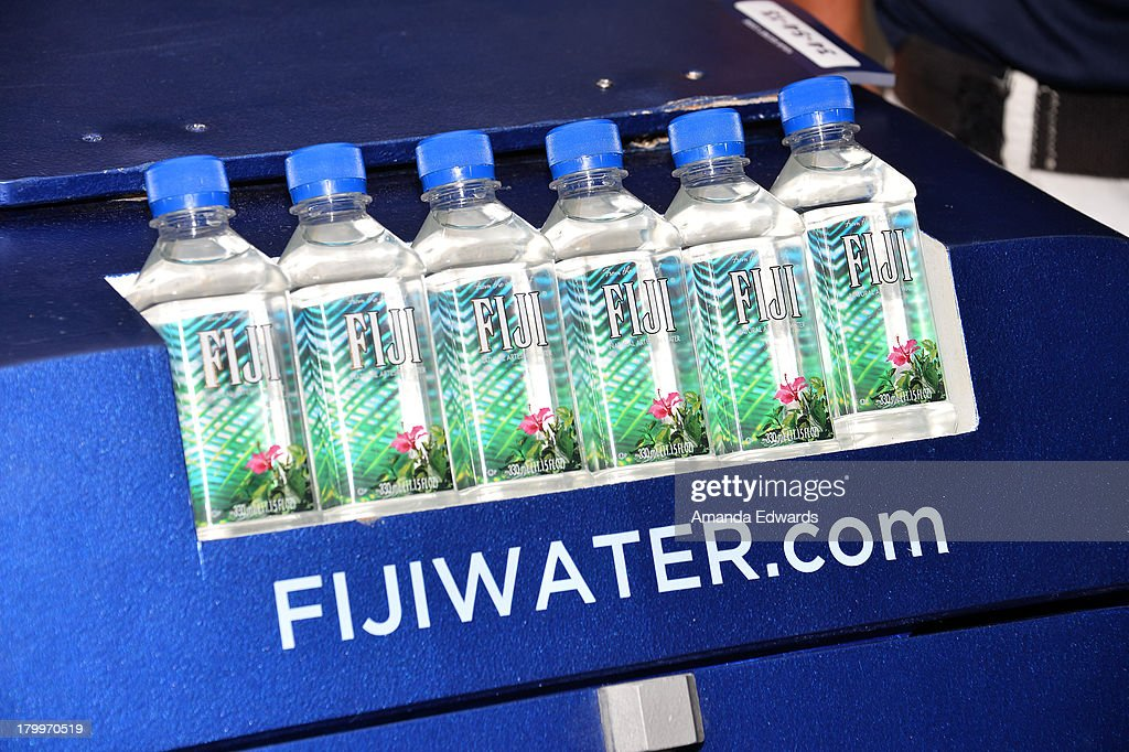 Water sampling at the 'Mandela: Long Walk To Freedom' premiere during the 2013 Toronto International Film Festival at Roy Thomson Hall on September 7, 2013 in Toronto, Canada.