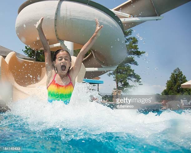 Wasserrutsche Spaß