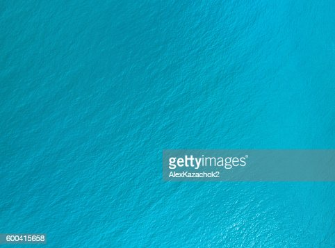 water surface aerial view : Stock Photo