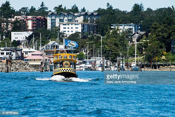 Water Taxis in Victoria Harbor, Vancouver Island, British Columbia, Canada
