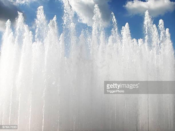 Wasser zum Himmel