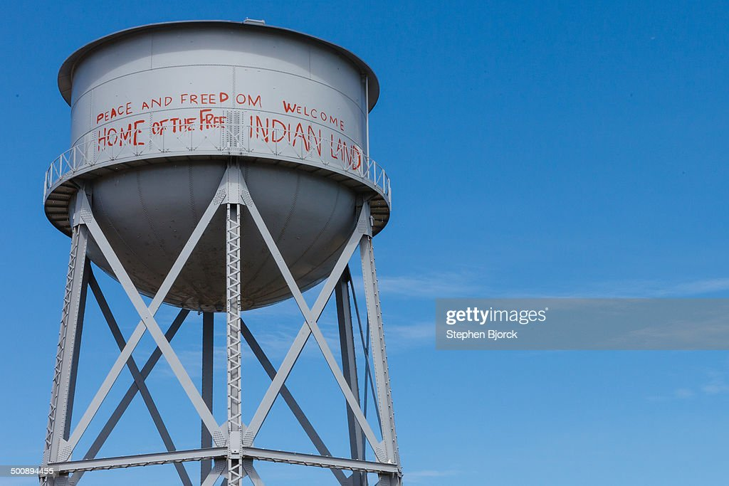Water tower at Alcatraz
