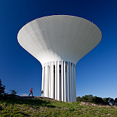 Water tower in Uppsala