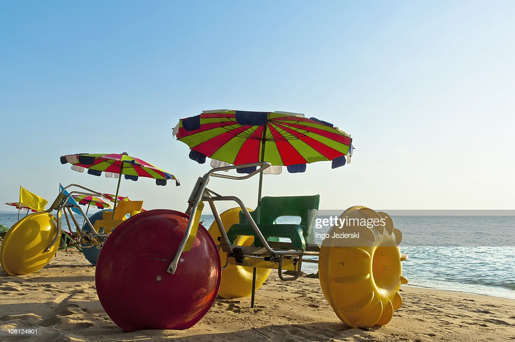 Water Tricycles : Stock Photo