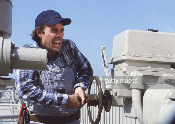 TEAM 'Water Water Everywhere' Episode 10 Pictured Dwight Schultz as 'Howling Mad' Murdock Photo by NBCU Photo Bank