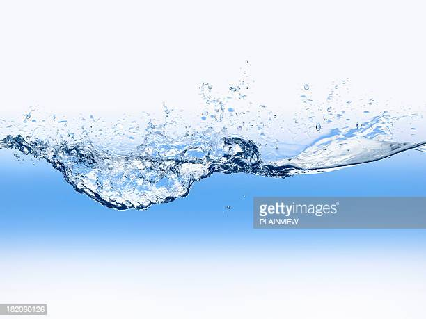 Wasser wave blue