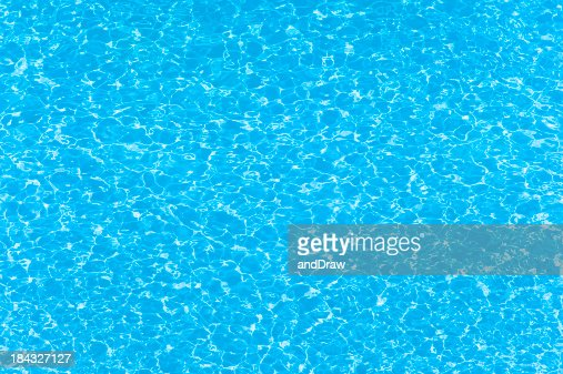 Water wave pattern of swimming pool