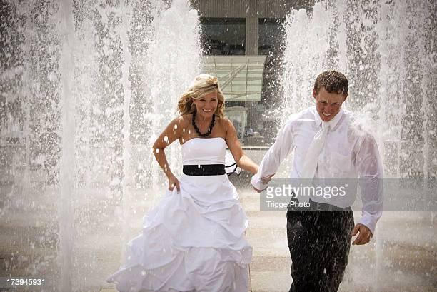 Acqua ritratti da sposa