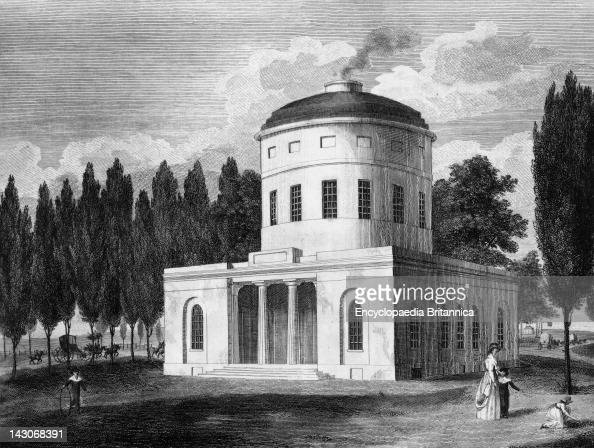 Water Works Centre Square Philadelphia The First Philadelphia Water Works Designed By Benjamin Latrobe Latrobe Modeled His Buildings After Greek...