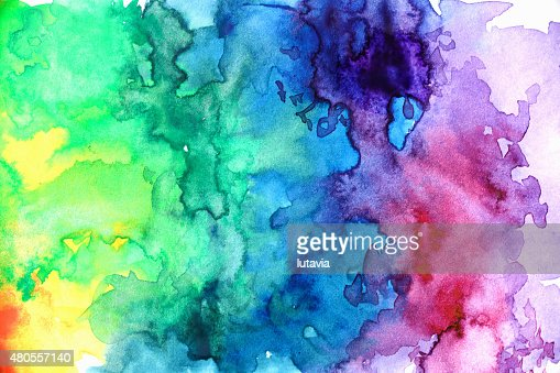 watercolor abstract : Stock Photo
