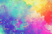 Watercolor Textured Background