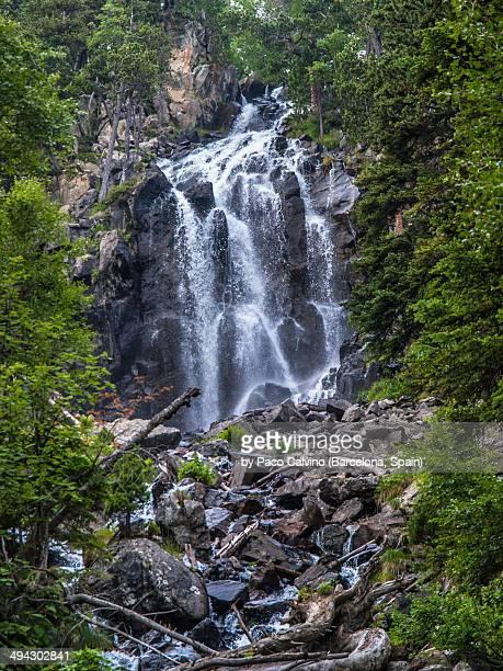 Waterfall at Aigüestortes National Park