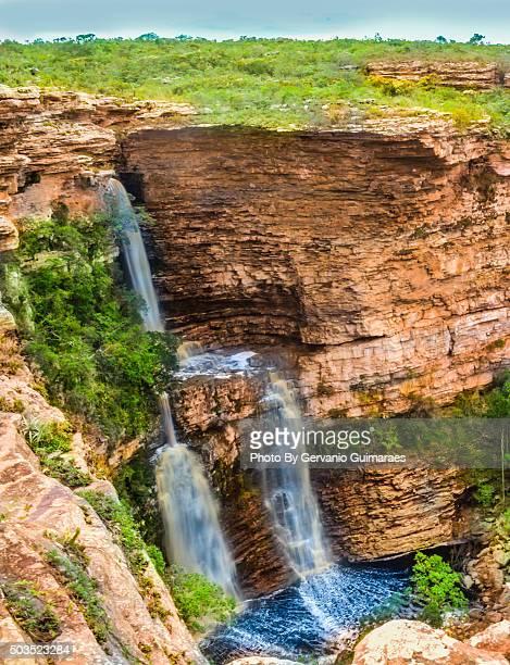 Waterfall at Chapada Diamantina