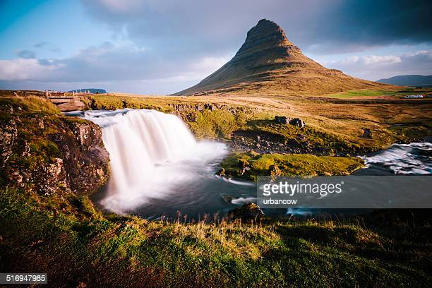 Waterfall at Kirkjufell, Snæfellsjökull