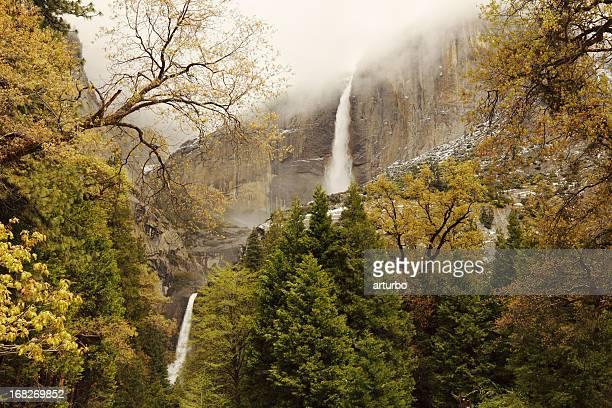 Cascada en Parque Nacional de Yosemite