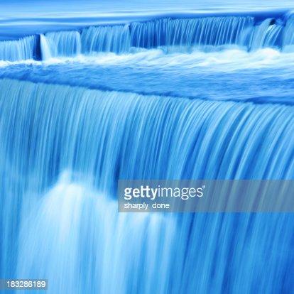 XL waterfall close-up