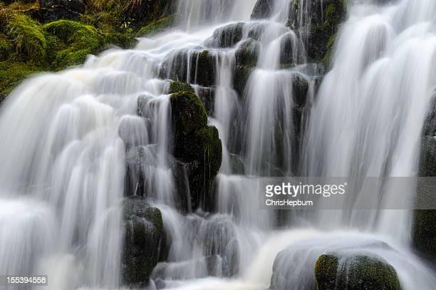 Waterfall Closeup, Scotland