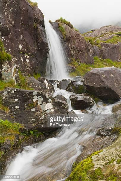 Waterfall, Connor Pass, Dingle Peninsula, County Kerry, Ireland