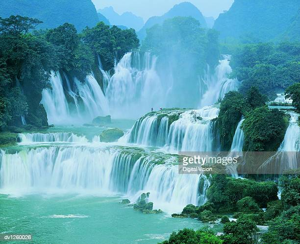 Waterfall, Detian, Guangxi Province, China