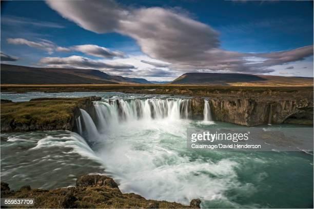 Waterfall, Godafoss, Iceland